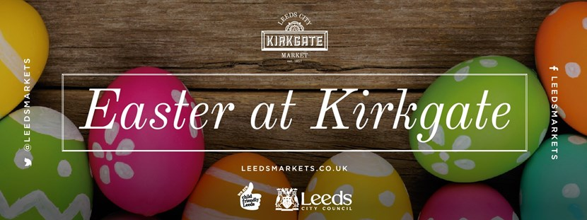 Hop down to Kirkgate Market this Easter for fun activities for all: easterimage.jpg