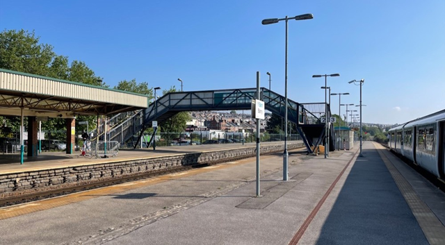 Lift-offforBarry Station:£3.3mprojectgets underwayto improve passenger accessibility: Barry station (2)