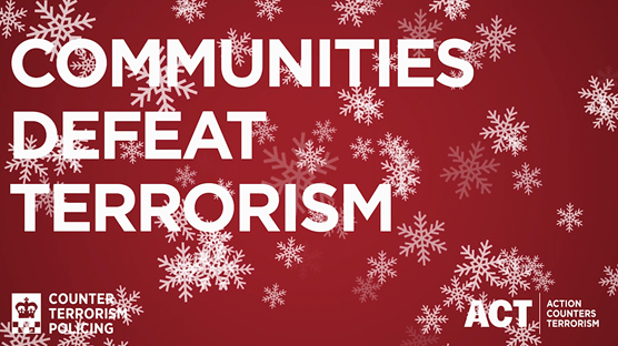 Counter Terrorism Policing want the public's help to get Christmas security all wrapped up: Option 3