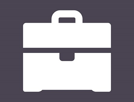 Council announces its help for local businesses affected by Coronavirus: Briefcase - icon