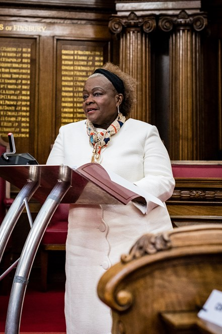 Freedom of the Borough - Jennette Arnold OBE