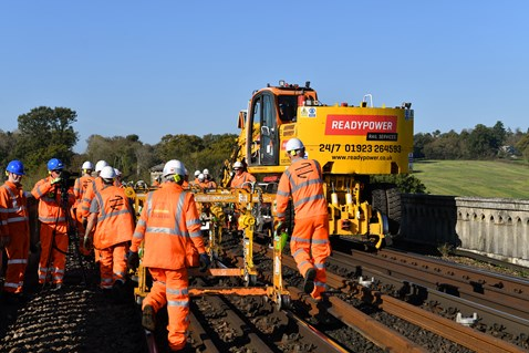 Brighton Mainline Upgrade Ouse Valley Oct 10  (36)