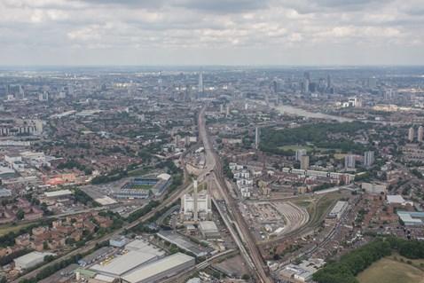 aerial - Bermondsey and London Bridge