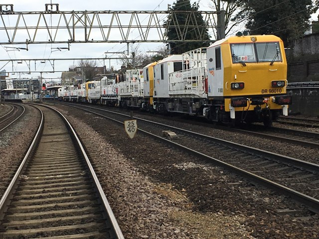 Rail passengers thanked as major upgrades are completed over Christmas and New Year: OLE renewals Forest Gate complete 3