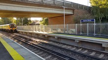 Martins Heron station with new, longer platforms (2)