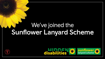 Transport for Wales joins Hidden Disabilities scheme: Sunflower-2