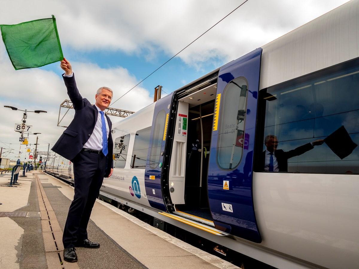 Rail Minister Doncaster