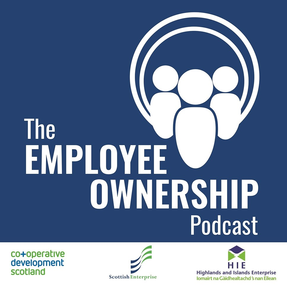 The Employee Ownership Podcast goes live: EO Podcast image