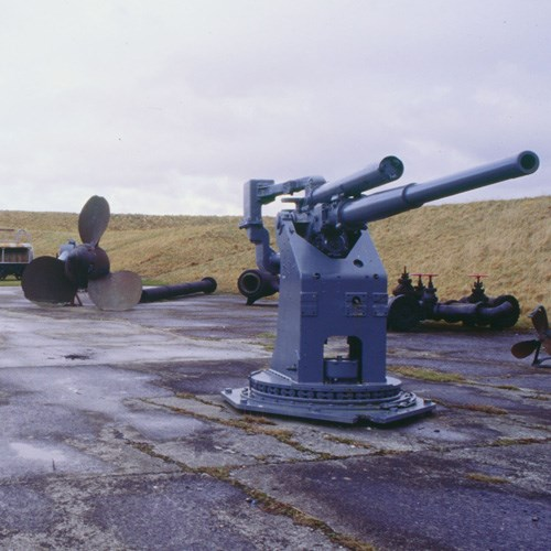 Scapa Museum and Visitor Centre in Lyness: Image provided by - 