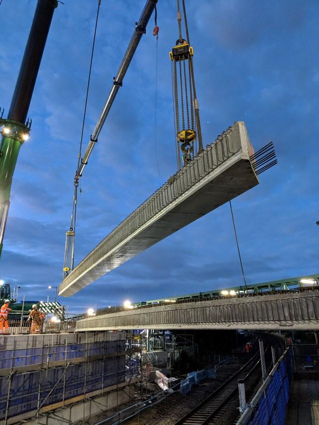 22 July Kerse Rd beam lift-2