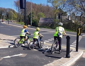 New measures to support social distancing for people walking and cycling in Leeds: Cycling