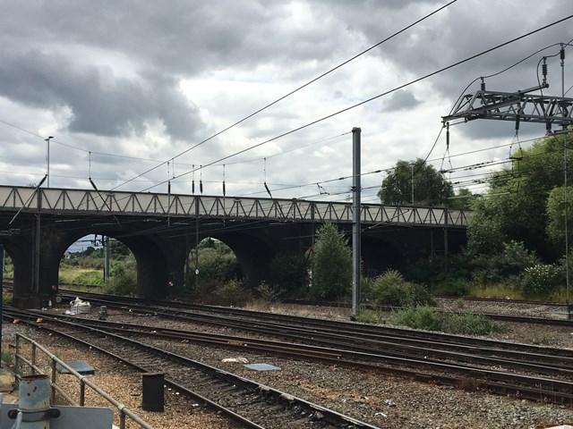 Railway under Ford End Road bridge