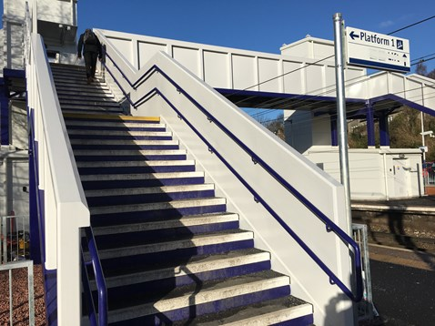 Westerton AFA Platform 2 staircase