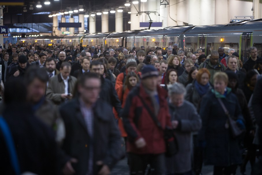 Customers and delivery at the centre of Network Rail's year: Busy station
