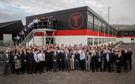 South Wales Metro Infrastructure Hub Opens: Metro Infrastructure Hub group photo