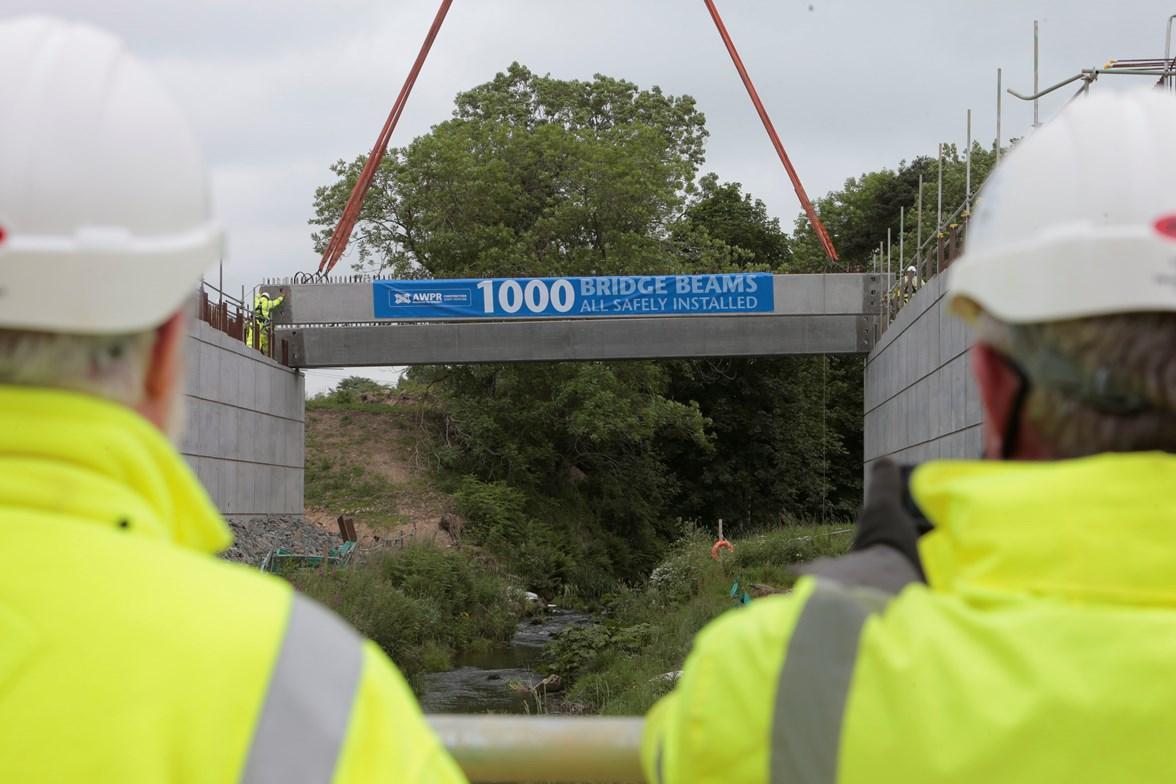 1000th beam lift 210617 - (i)
