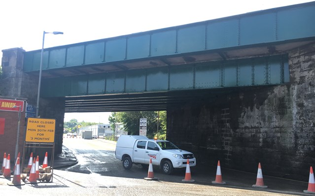 Cambuslang Road, Rutherglen reopens following vital bridge refurbishment: Cambuslang Road, Rutheglen reopens on programme following 14 week bridge refurbishment