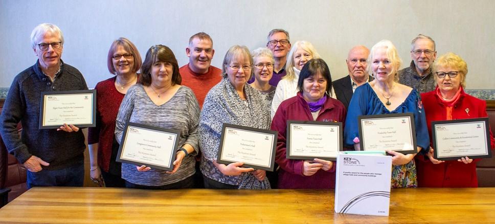Community groups secure Keystone Award: communitycerts