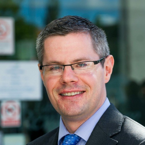 Derek Mackay launches the Town Centre First Principle: Local Government Minister in Barrhead.