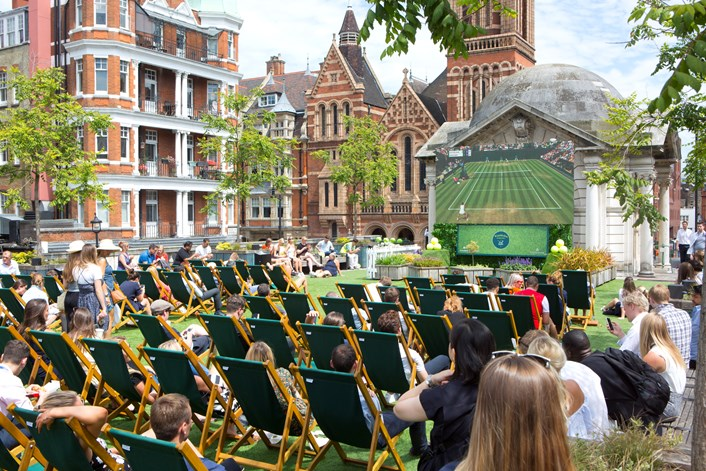 London Eats: Celebrate the return of Wimbledon with the best ways to eat, drink and enjoy the tennis in London this summer: Brown Hart Gardens in Mayfair
