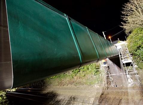 St Austell FRP Footbridge