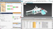 FasceMask screenshot 3D design using Siemens MCD (Mechatronic Concept Designer)