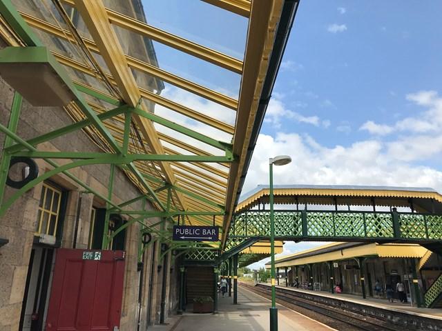 Celebrations as £1.1million improvement work at Worksop station receives national award 2