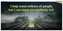 Network Rail launches hard-hitting safety campaign to warn of dangers of trespassing on electrified railway