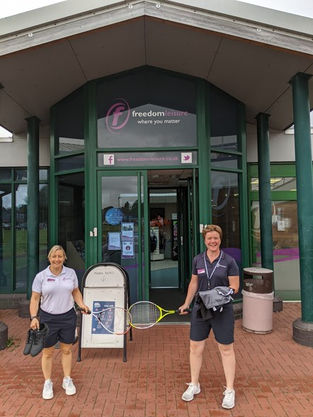 Freedom Leisure Lydney - kit out the nation - outside 2