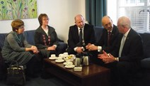 John Swinney meets with Blanefield residents: The Finance Secretary revealed the Scottish Government would contribute £300,000 to clear-up contaminated land in Blanefield.