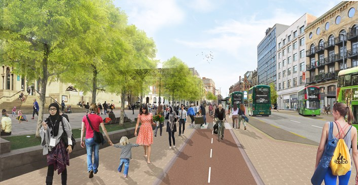 £20m major works to start on transforming The Headrow in Leeds: rf18-540-ps-14-view3-headrow-museum-789751.jpg