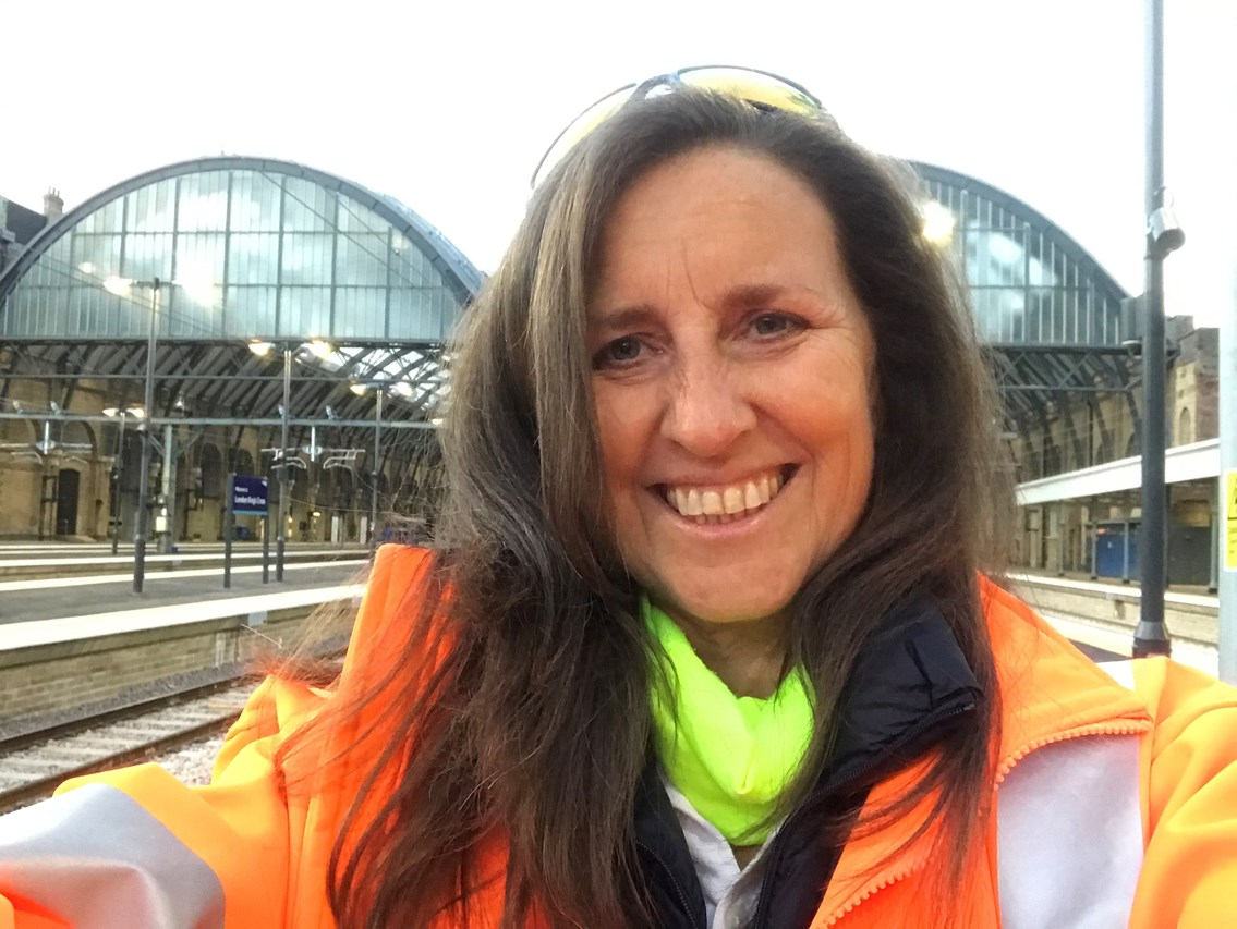 International Women in Engineering Day - Engineer who worked on major project at King's Cross station encourages more women to consider railway careers: Joanne Thomas, Signalling Project Engineer, Network Rail-3