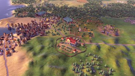 Civilization VI - New Frontier Pass - Maya & Gran Colombia Pack - Hacienda Building
