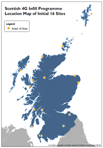 Improving mobile coverage: Map of initial 4G Infill sites-2