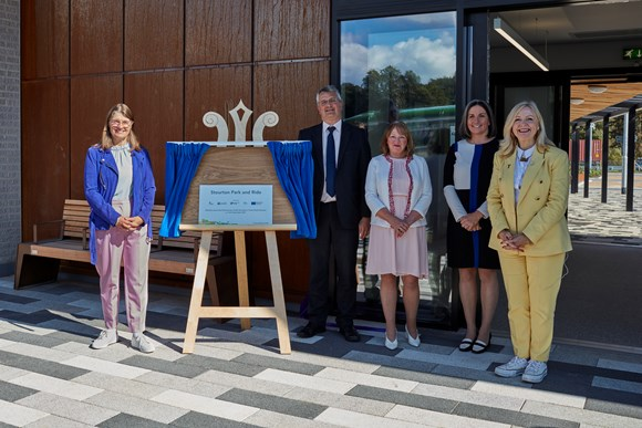 Minister Maclean, Cllr Lewis, Cllr Groves, Cllr Hayden and WY Mayor Tracy Brabin
