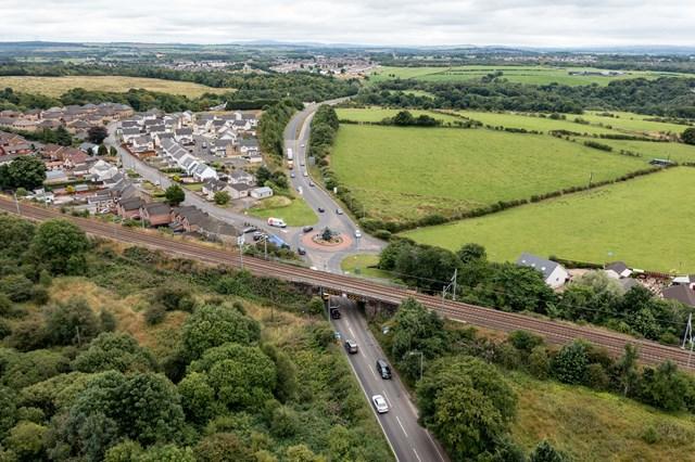 Cleland rail bridge upgrade to avoid lorry strikes: Bellside Bridge