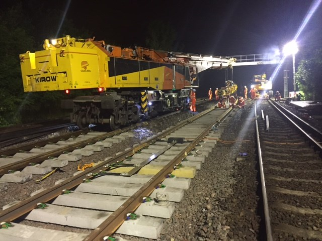 One weekend of major work at Chislehurst station completed by Network Rail - four more to come: One weekend of major work at Chislehurst station completed by Network Rail - four more to come: Work overnight at Chislehurst