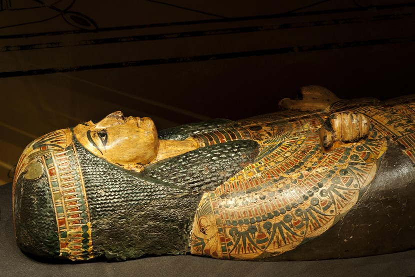 Leeds Museums and Galleries object of the week- Coffin of Nesyamun: lcm0084.jpg