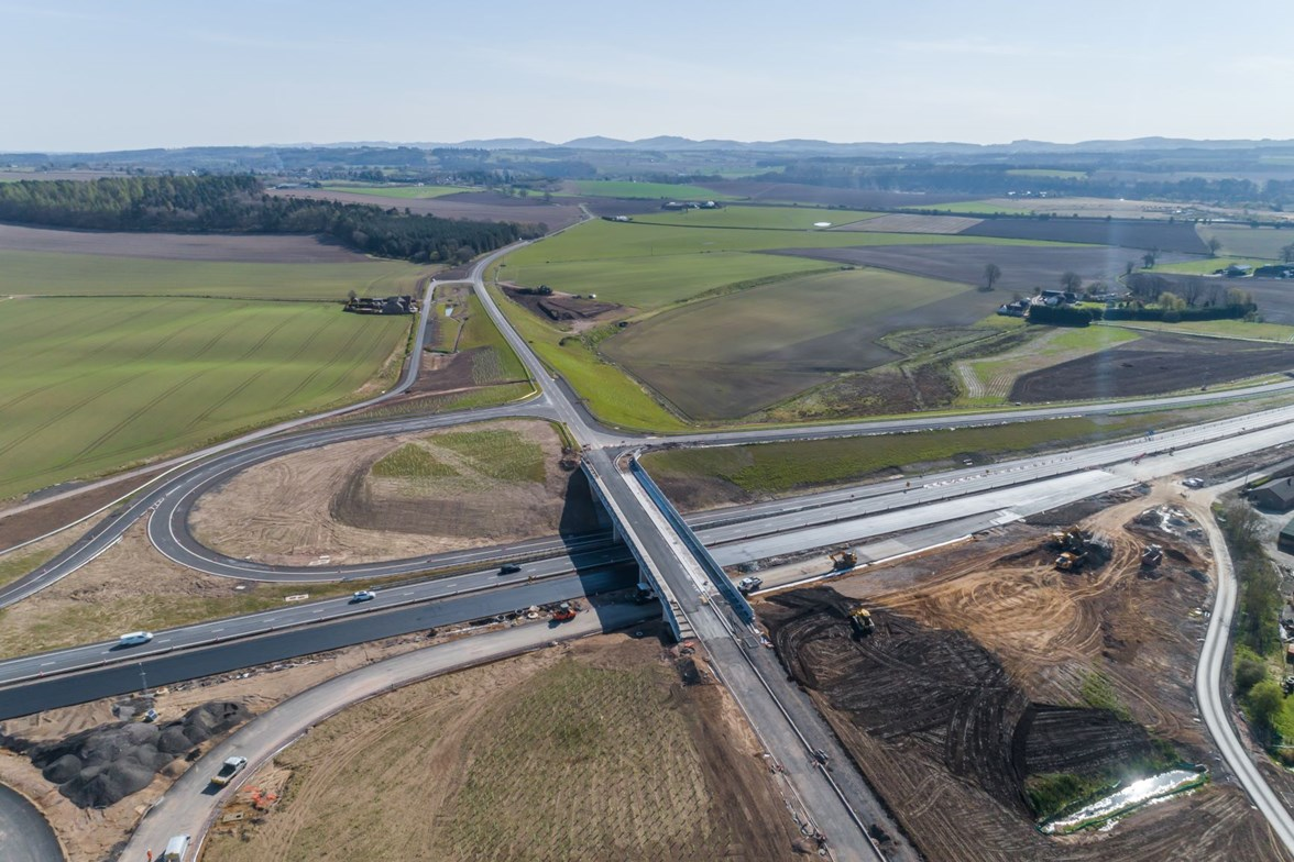 A9 Dualling - New Stanley Tullybelton Junction complete