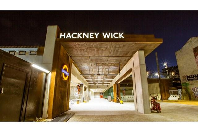 Hackney Wick front view
