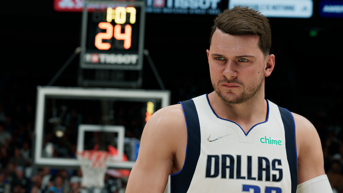 NBA 2K22 First Look Luka Doncic