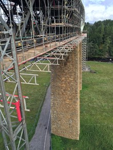 Findhorn 4 From scaffolding