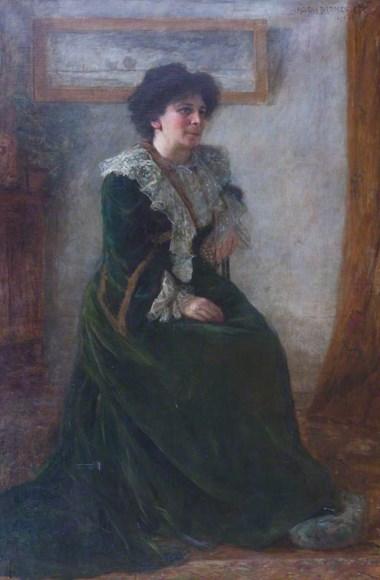 Helena Arsène Darmesteter - Portrait of Hertha Ayrton