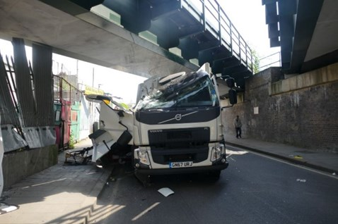Hinton Road Lorry Crash 4