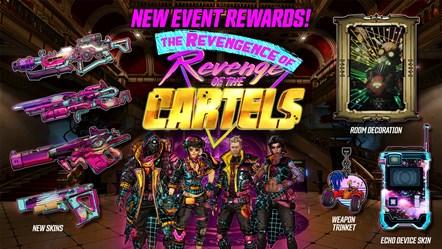 BL3 The Revengence of Revenge of the Cartels Rewards
