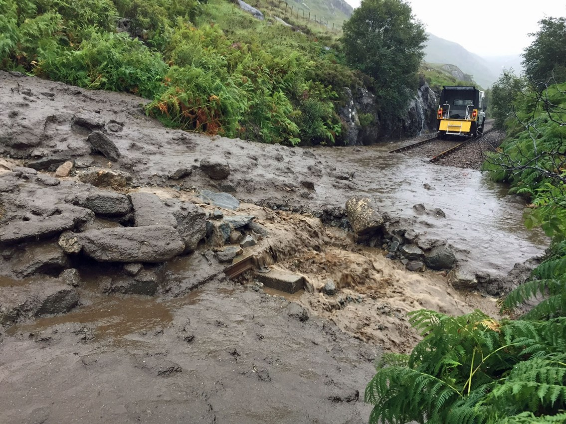 Fort William-Mallaig landslide recovery update: Fort William - Mallaig1