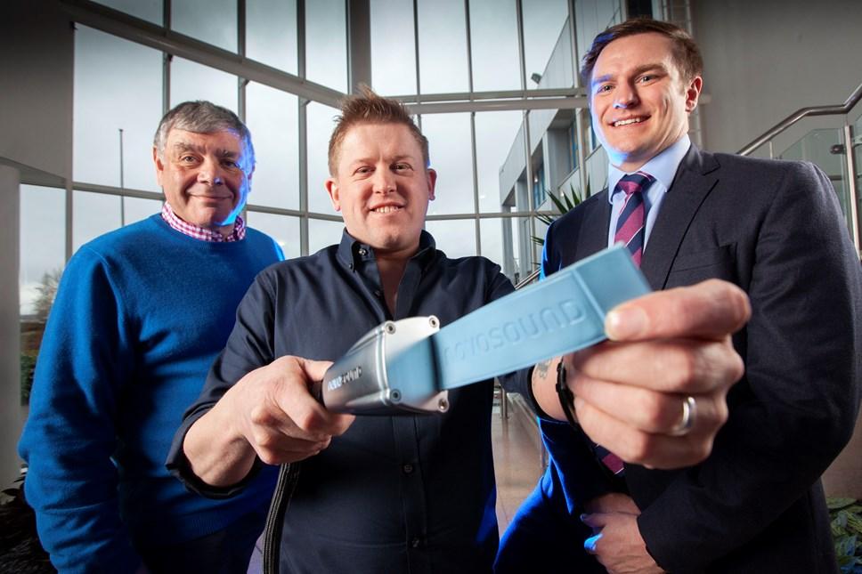 Innovative Scottish ultrasound company secures £3.3m investment: Novosound Final PR Photo