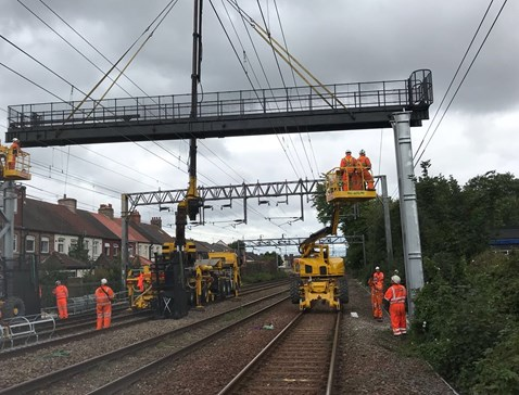 Weaver Wavertree resignalling project August 2018