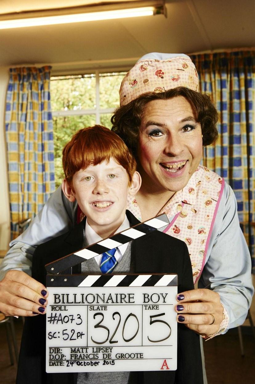 A one in a billion treat for Leeds children in care: billionaireboy.jpg