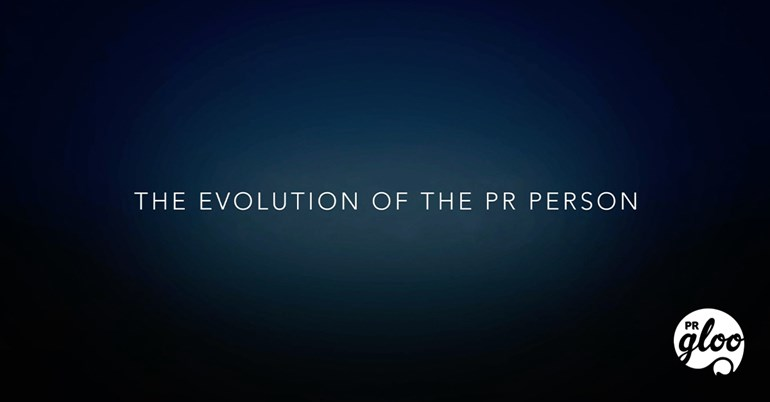 PRgloo - The Evolution of PR (with a video to make you smile): PRGloo-Evolution-PR-Person-Thumbnail-v02